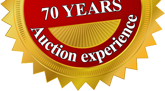 More than 60 years Auction experience